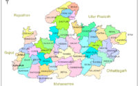 MP map district wise